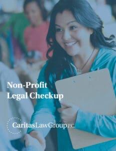 Non Profit Legal Checkup Ebook Cover